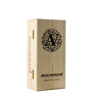 cassetta occhio di pernice + vin santo di montepulciano 2 x 100 ml 1999 avignonesi - enoteca pirovano