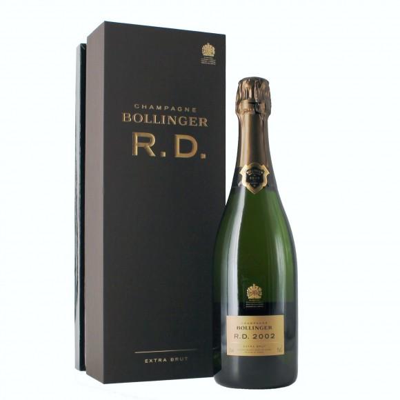 champagne r. d. 2002 astucciato 75 cl bollinger - enoteca pirovano