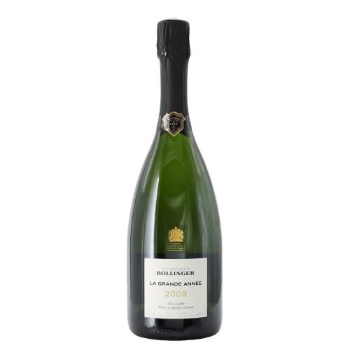 champagne brut la grande annee 2008 75 cl bollinger - enoteca pirovano