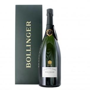 champagne la grande anneè 2007 1.5 lt cassa legno bollinger - enoteca pirovano