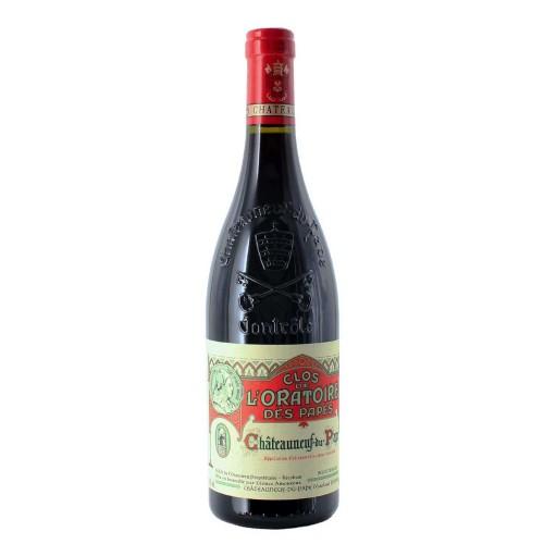 chateauneuf du pape rosso 2017 75 cl clos de l'oratoire des papes - enoteca pirovano
