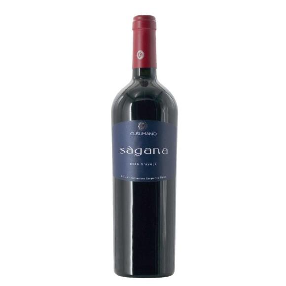 sagana nero d'avola 2002 75 cl cusumano  - enoteca pirovano