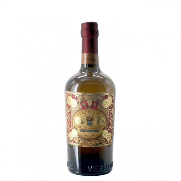 vermouth bianco del professore 2015 75 cl  - enoteca pirovano