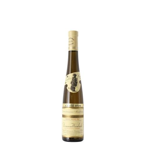 gewurztraminer gran cru mambourg quintessence de grains nobles cuvee d'or 2005 37.5 cl domaine weinbach - enoteca pirovano