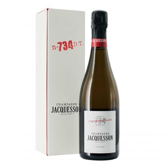 champagne extra brut cuvee 734 degorgement tardif 75 cl jacquesson - enoteca pirovano