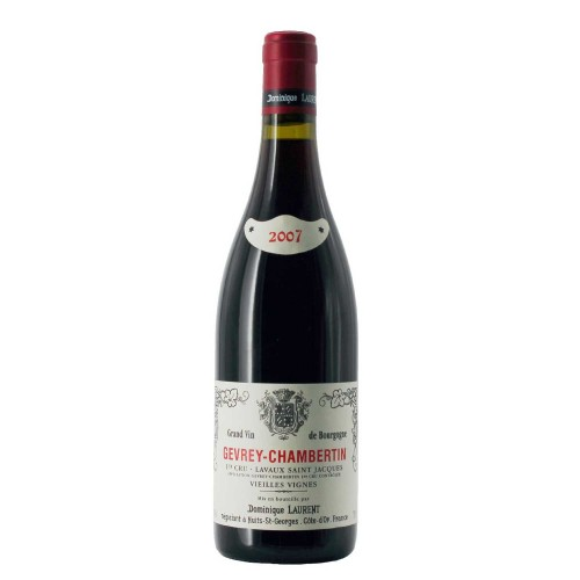 gevrey - chambertin 1er cru lavaux saint jacques vielles vignes 2007 75 dominique laurent - enoteca pirovano