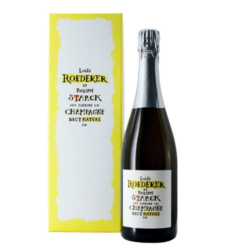 champagne brut nature 2012 75 cl louis roederer & philippe starck - enoteca pirovano