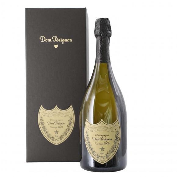 champagne dom perignon 2008 75 cl con cofanetto moet & chandon - enoteca pirovano