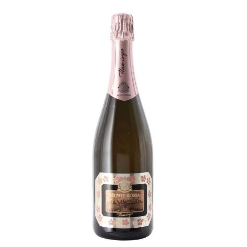 franciacorta brut rosè flamingo 75 cl monte rossa - enoteca pirovano