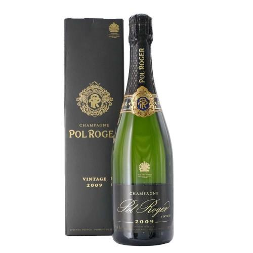 champagne brut vintage 2009 75 cl pol roger - enoteca pirovano