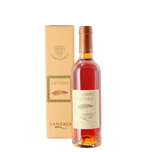 vino da uve stramature latinia  2011 37.5 cl  santadi - enoteca pirovano