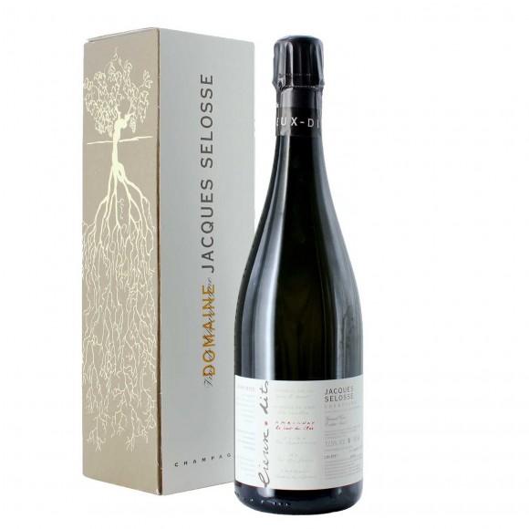 champagne blanc de noirs grand cru la bout du clos 75 cl selosse - enoteca pirovano