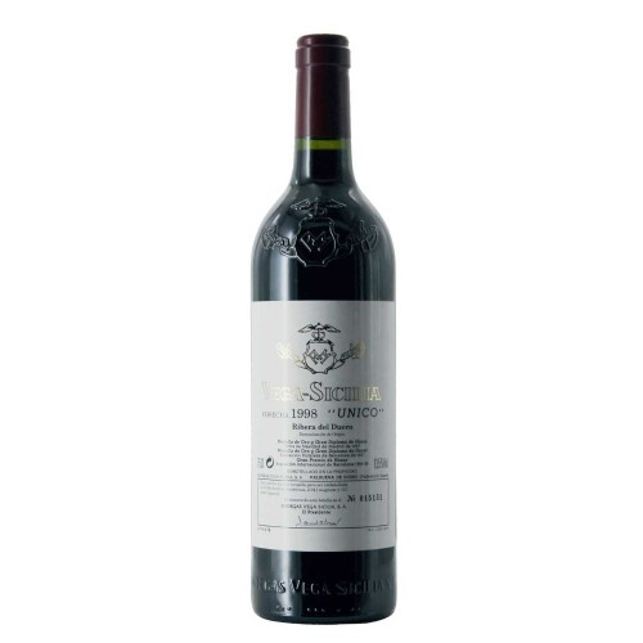 vega sicilia unico 1998 75 cl - enoteca pirovano