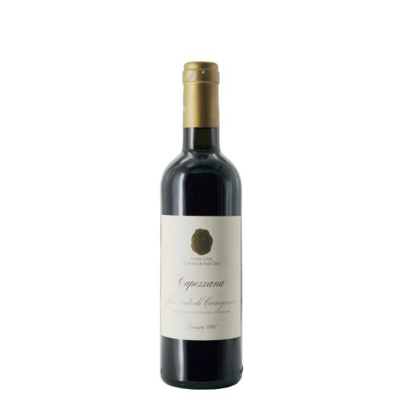 vin santo di carmignano riserva 1997 37.5 cl capezzana - enoteca pirovano