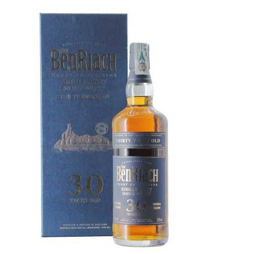 whisky 30 anni old single malt 50% 70 cl benriach - enoteca pirovano