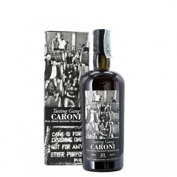 rum guyana blended tasting gang 1996 23 anni caroni - enoteca pirovano