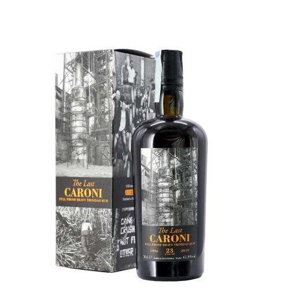 rum guyana htr the last 1996 23 anni caroni - enoteca pirovano