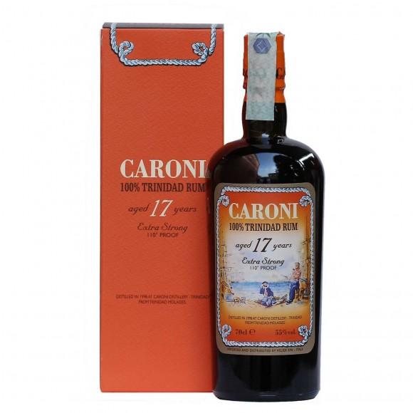 rhum caroni 17 anni extra strong 110° proof 70 cl - enoteca pirovano