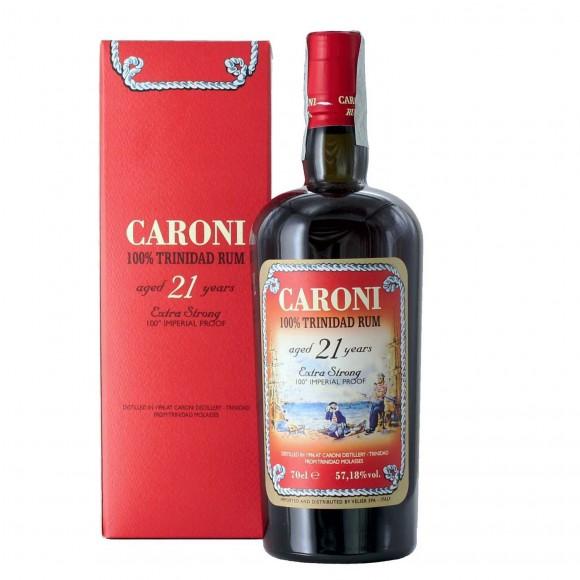rhum caroni extra strong 21 anni 1996 70 cl  - enoteca pirovano