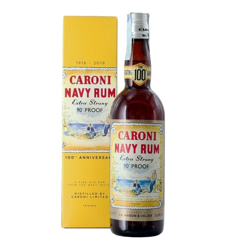 Rhum Caroni Navy 90° Proof...
