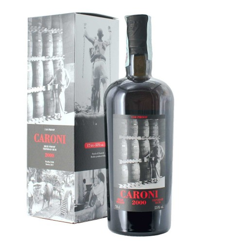 rhum caroni 2000 high proof 70 cl - enoteca pirovano