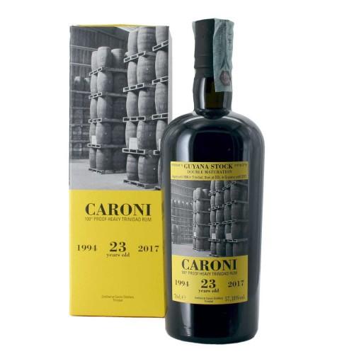 rhum caroni 23 anni 100° proof heavy 70 cl - enoteca pirovano