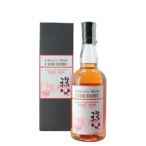 whisky single malt ichiro's port pipe 70 cl chichibu distillery - enoteca pirovano