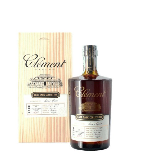rhum rare cash collection 2000 50 cl clement - enoteca pirovano