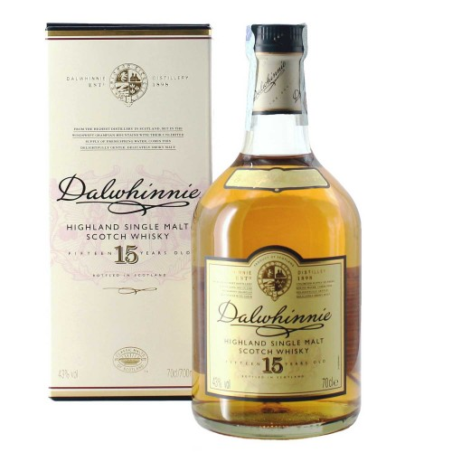 whisky single malt 15 years old 70 cl dalwhinnie - enoteca pirovano