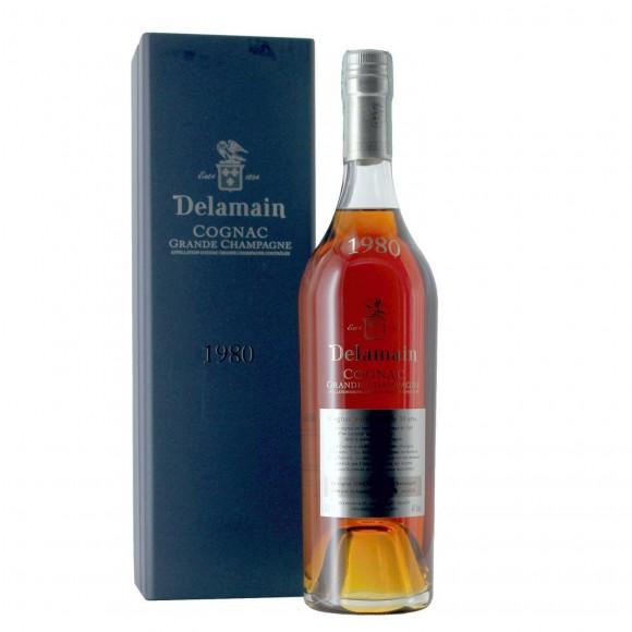 cognac grande champagne 1980 40% 70 cl delamain  - enoteca pirovano