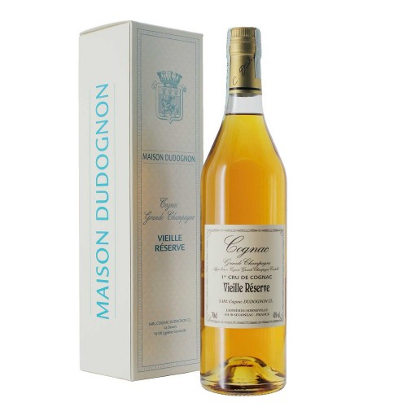 cognac vieille reserve 40% 70 cl dudognon - enoteca pirovano