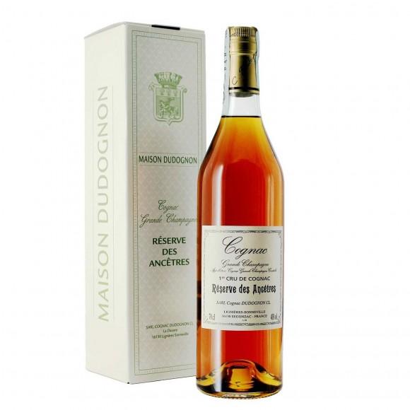 cognac reserve des ancetres 40% 70 cl dudognon  - enoteca pirovano