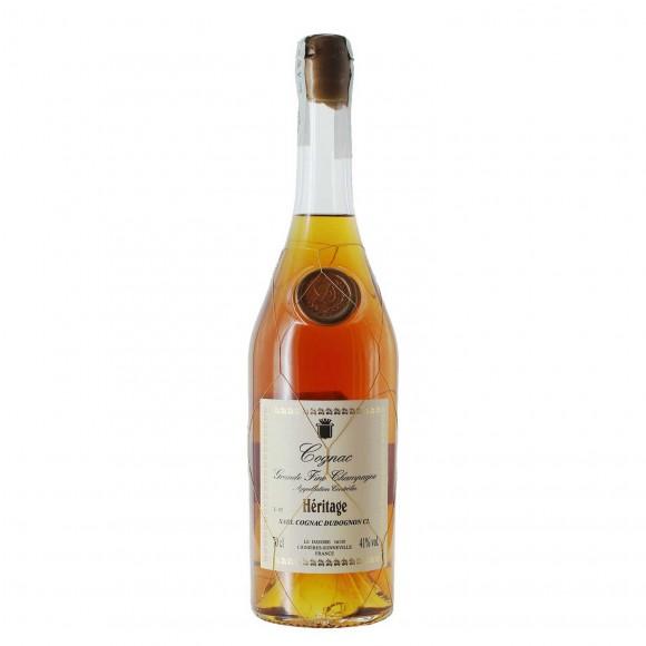 cognac heritage 40 anni 41% 70 cl dudognon - enoteca pirovano