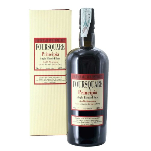 rum foursquare principia single blended 70 cl  - enoteca pirovano