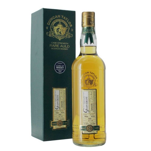 whisky glen grant 36 anni 1972 70 cl duncan taylor - enoteca pirovano