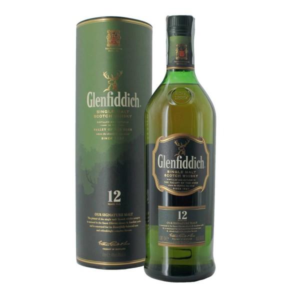 whisky glenfiddich 12 anni 40% 1 lt - enoteca pirovano