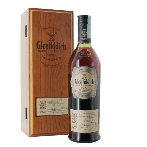 whisky glenfiddich 1975 rare collection 34 anni 70 cl - enoteca pirovano