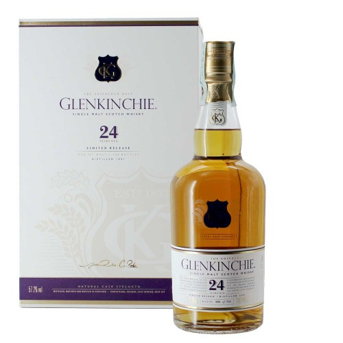 whisky single malt 24 anni 70 cl glenkinchie - enoteca pirovano