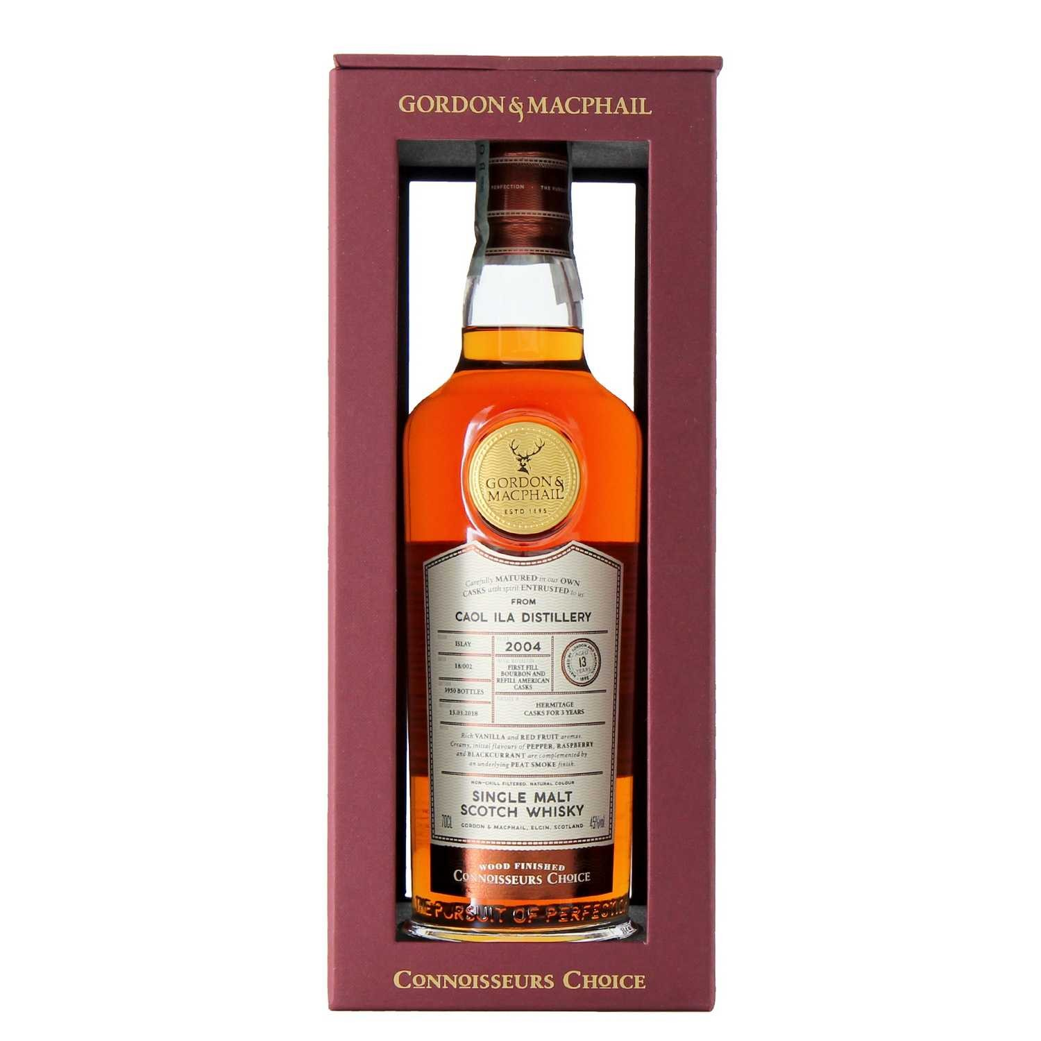 whisky single malt caol ila 2004 70 cl gordon & macphail  - enoteca pirovano