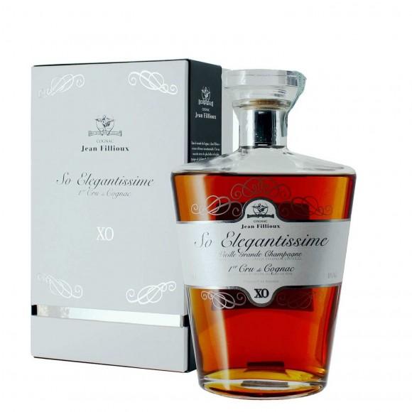cognac xo so elegantissime vieille grande champagne 1er cru jean fillioux - enoteca pirovano