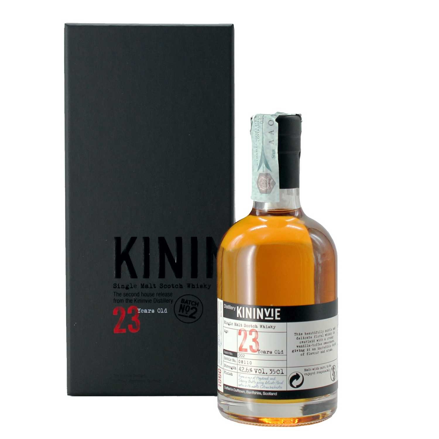 whisky single malt 1990 23 years old 35 cl kininvie - enoteca pirovano