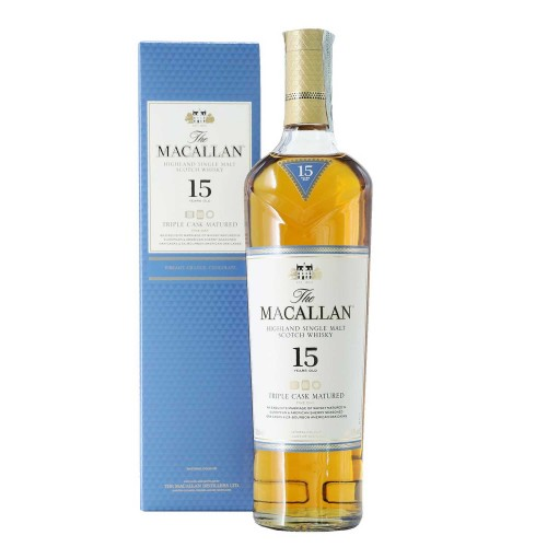 whisky macallan 15 years triple cask 70 cl - enoteca pirovano