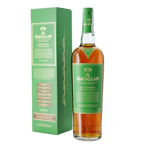 whisky single malt edition n 4 70 cl macallan  - enoteca pirovano