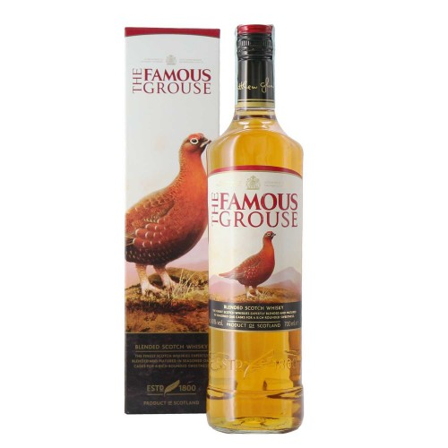 blended scotch whisky the famous grouse 70 cl - enoteca pirovano