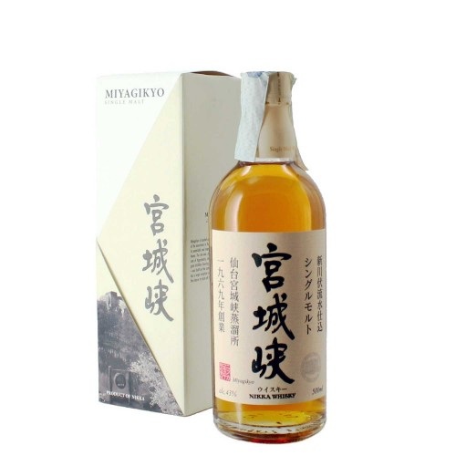 whisky miyagikyo single malt no age 50 cl nikka - enoteca pirovano