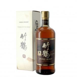 whisky taketsuru pure malt 12 anni 70 cl nikka - enoteca pirovano