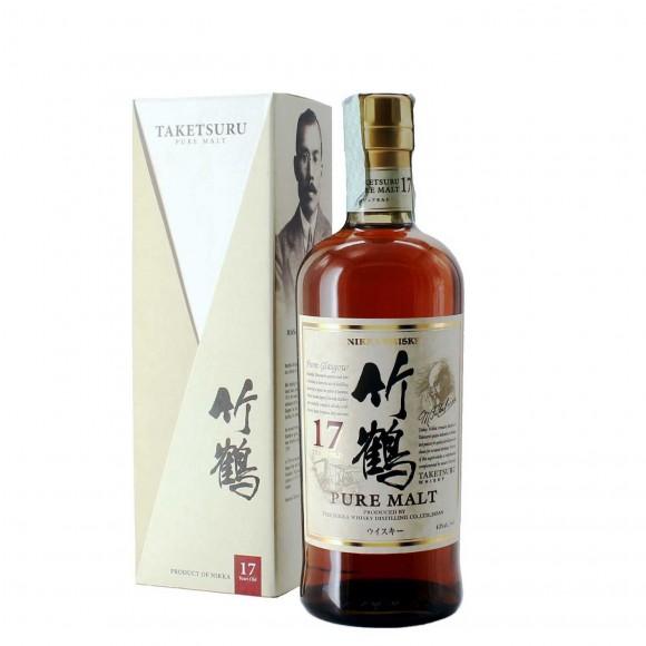 whisky taketsuru pure malt 17 anni 70 cl nikka - enoteca pirovano