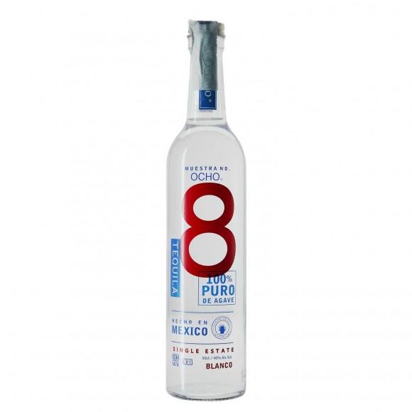 tequila blanco 40% 50 cl ocho - enoteca pirovano