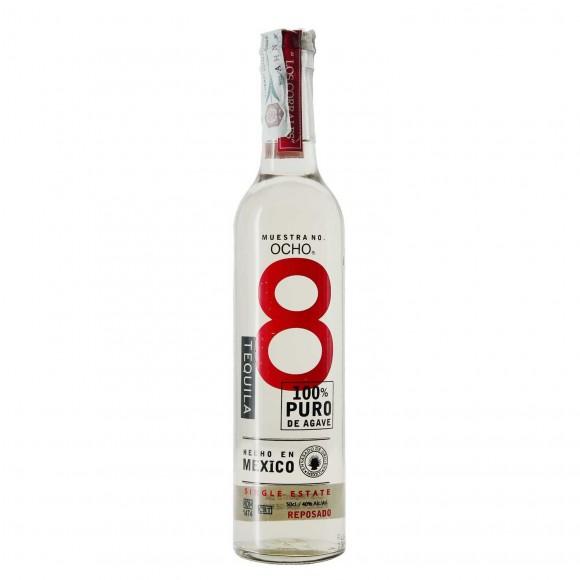 tequila reposado 40% 50 cl ocho - enoteca pirovano