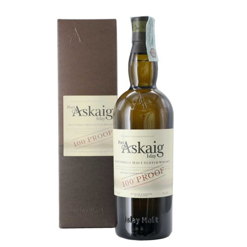 whisky single malt 100° proof 70 cl port askaig  - enoteca pirovano